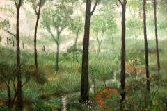 lukisan-sunarno-hutan